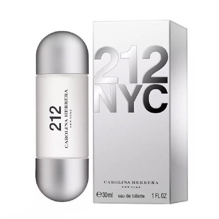 212 Perfume by Carolina Herrera 1.0oz Eau De Toilette spray for women
