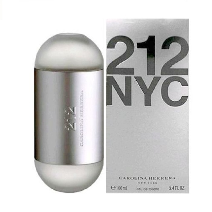 212 Perfume by Carolina Herrera 3.4oz Eau De Toilette Spray for women