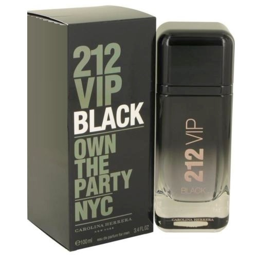 212 VIP Black Cologne by Carolina Herrera 3.4oz Eau De Parfum spray for men