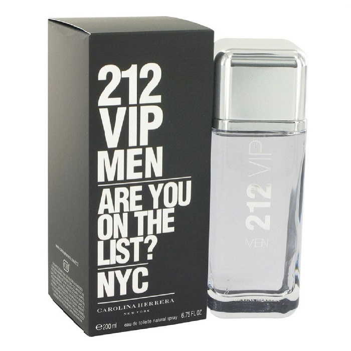 212 VIP Cologne by Carolina Herrera 6.7oz Eau De Toilette spray for men