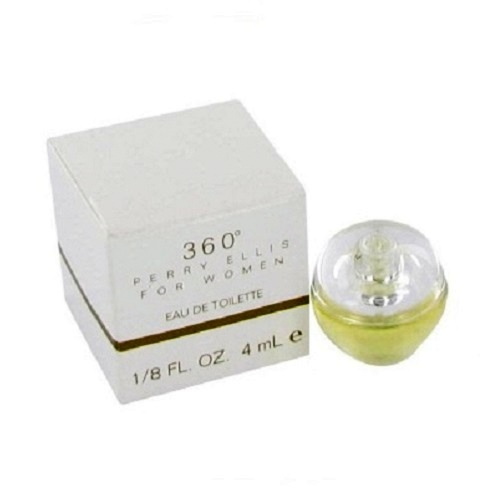 360 Perry Ellis Mini Perfume by Perry Ellis 1/8oz / 4ml Eau De Toilette Spray for women