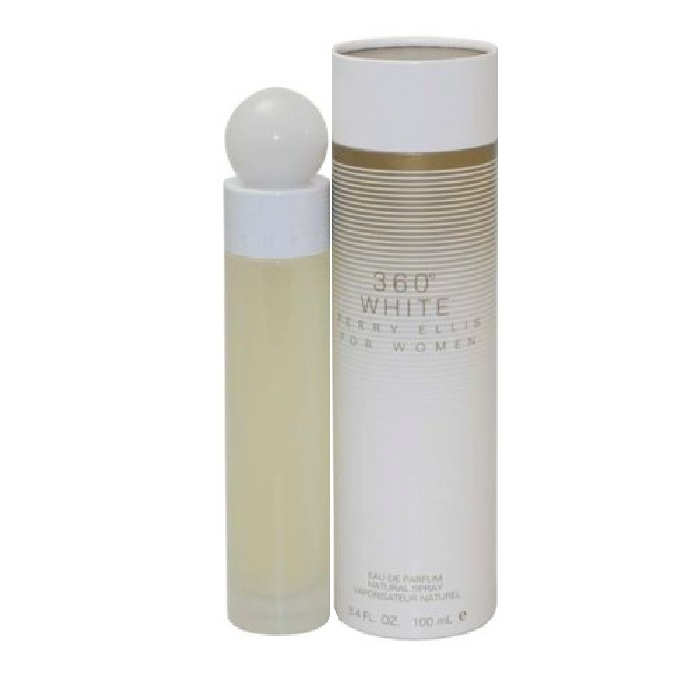 360 White Perfume by Perry Ellis 3.3oz Eau De Toilette spray for Women