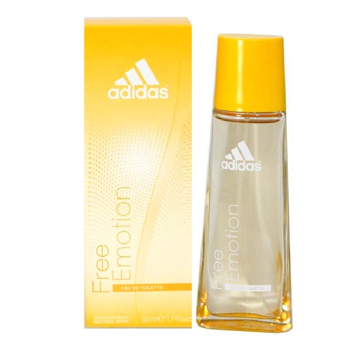 Adidas Free Emotion Perfume by Adidas 1.7oz Eau De Toilette Spray for women