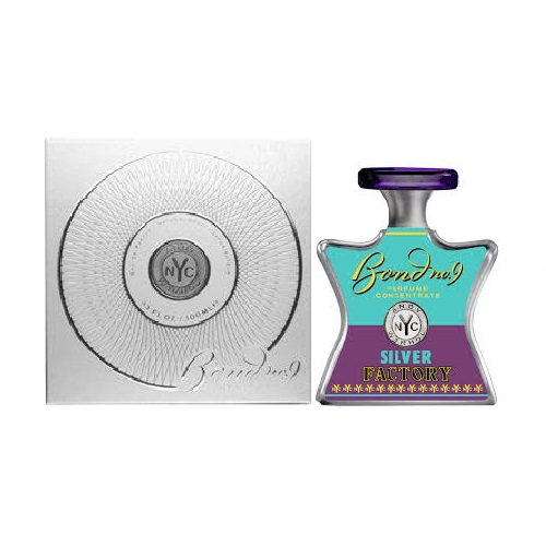 Andy Warhol Silver Factory Perfume by Bond No. 9 1.7oz Eau De Parfum spray (unisex)