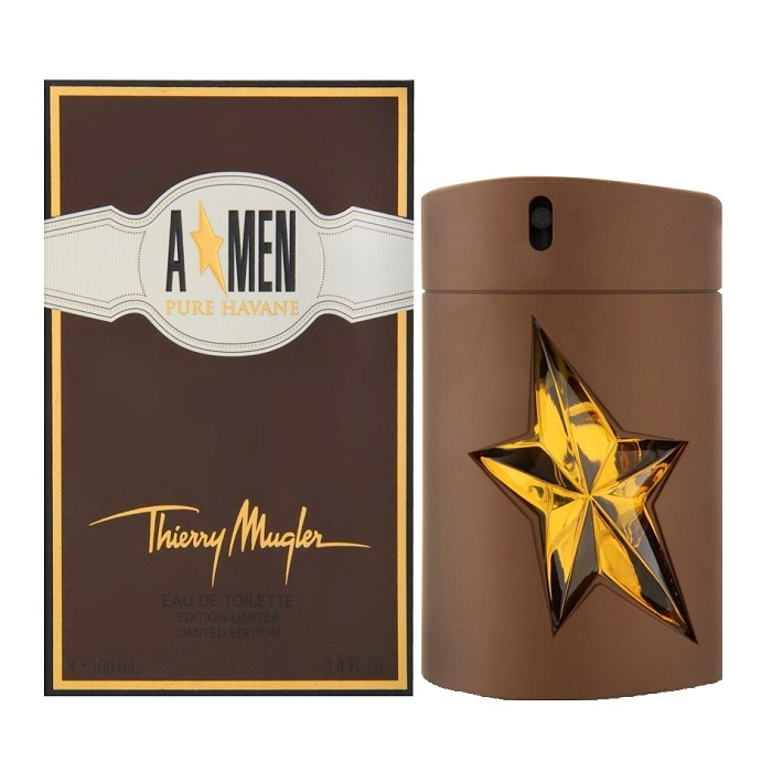 Angel (A Men) Pure Havane Cologne by Thierry Mugler 3.4oz Eau De Toilette spray for Men