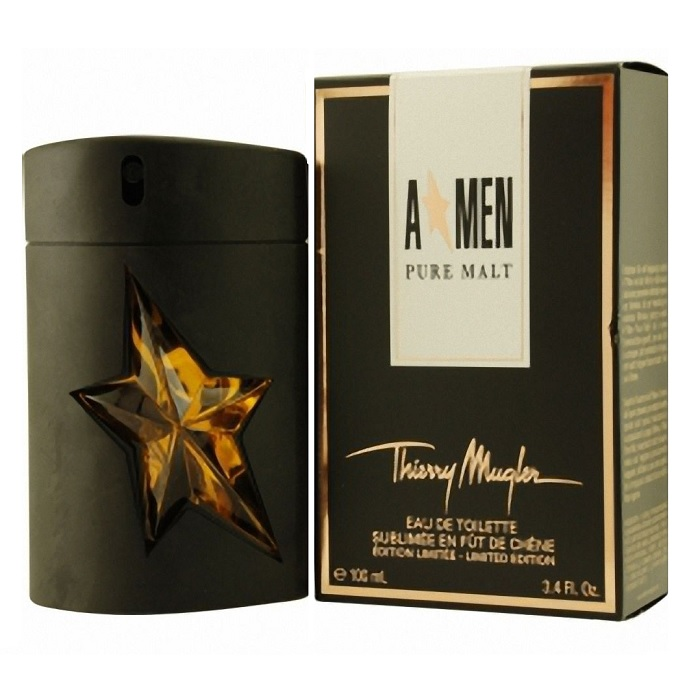 Angel (A Men) Pure Malt Cologne by Thierry Mugler 3.4oz Eau De Toilette spray for Men