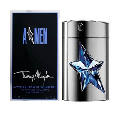 A*MEN Angel Cologne (metal case) by Thierry Mugler 3.4oz Eau De Toilette spray for men