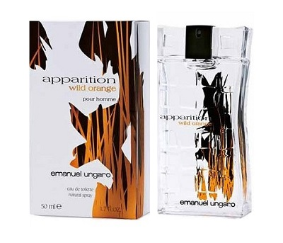 Apparition Wild Orange Cologne by Emanuel Ungaro 3.0oz Eau De Toilette spray for Men