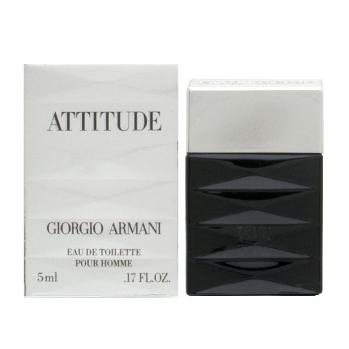 Armani Attitude Mini Cologne by Giorgio Armani 0.17oz / 5ml Eau De Toilette for men