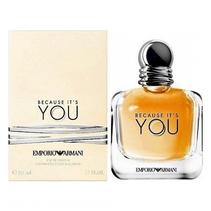 Because It's You Perfume by Emporio Armani 1.7oz Eau De Parfum spray for women