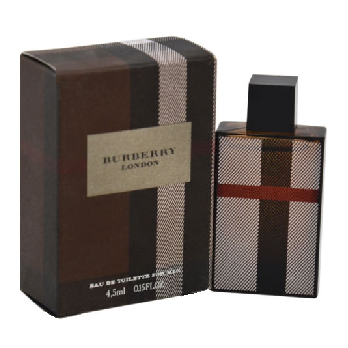 Burberry London Mini Cologne by Burberry 0.15 oz / 4.5 ml Eau De Toilette for Men