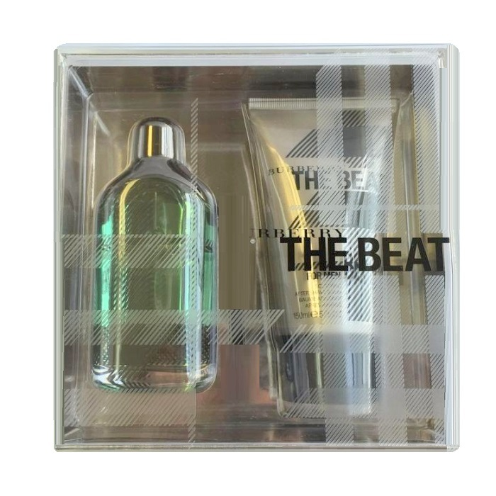 Burberry The Beat Gift Sets for men - 3.3oz Eau De Toilette spray, & 5.0oz After Shave Balm
