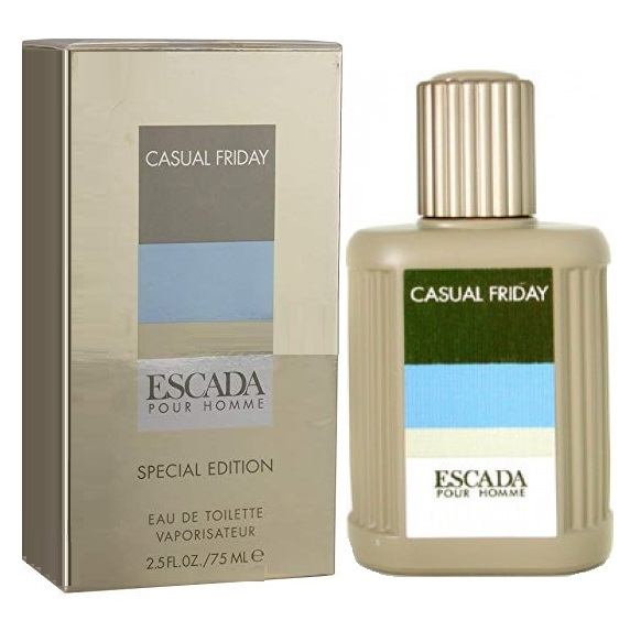 Casual Friday Cologne by Escada 2.5oz Eau De Toilette spray for men