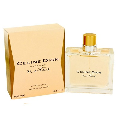 Celine Dion Notes Perfume