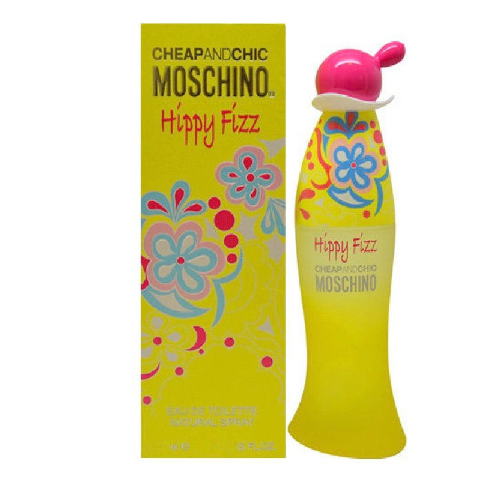 Cheap and Chic Hippy Fizz Perfume by Moschino 1.7oz Eau De Toilette spray for Women