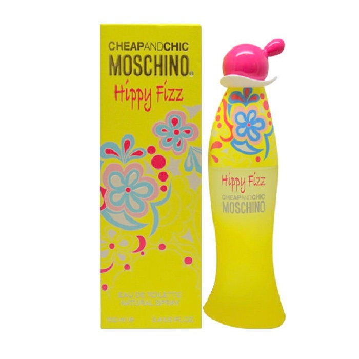 Cheap and Chic Hippy Fizz Perfume by Moschino 3.4oz Eau De Toilette spray for Women