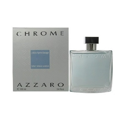 Chrome Azzaro After shave Lotion (liquid) by Loris Azzaro 3.4oz for men