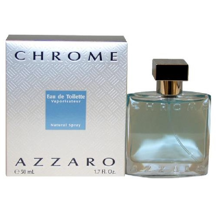 Chrome Cologne by Loris Azzaro 1.7oz Eau De Toilette spray for men