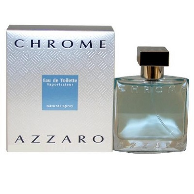 Chrome Cologne by Loris Azzaro 3.3oz Eau De Toilette spray for men