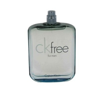 CK Free Tester Cologne by Calvin Klein 3.4oz Eau De Toilette spray for Men