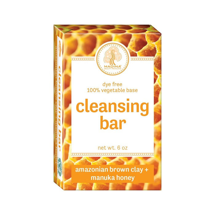 Cleansing Bar Soap - Amazonian Brown Clay & Manuka Honey 6oz