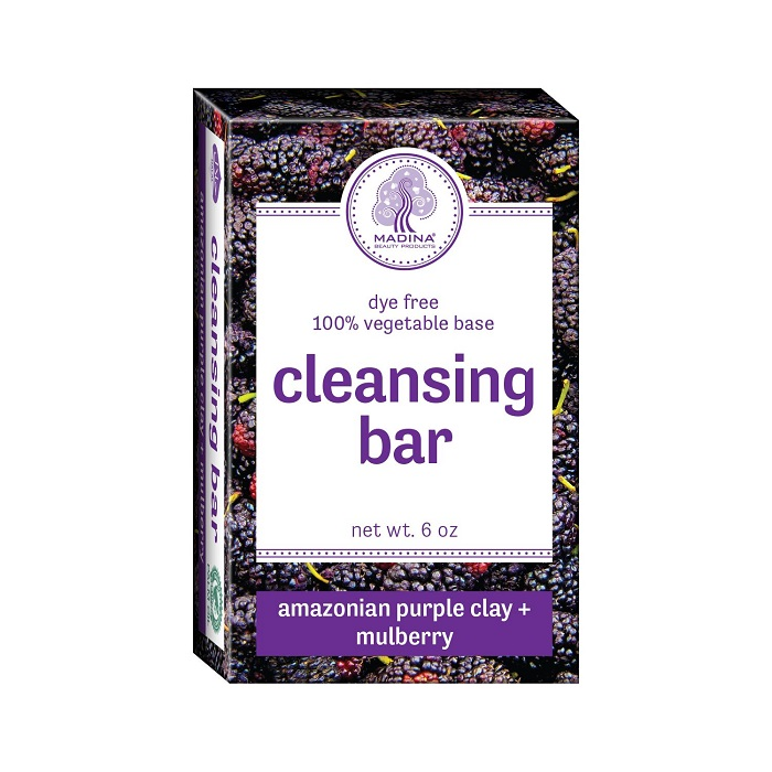 Cleansing Bar Soap - Amazonian Purple Clay & Mulberry 6oz