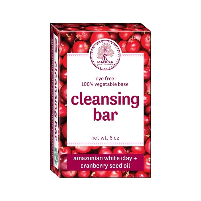 Cleansing Bar Soap - Amazonian White Clay & Cranberry Seed Oil 6oz