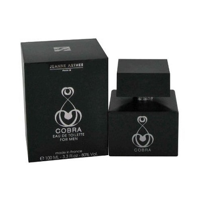 Cobra Cologne by Jeanne Arthes 3.3oz Eau De Toilette spray for Men