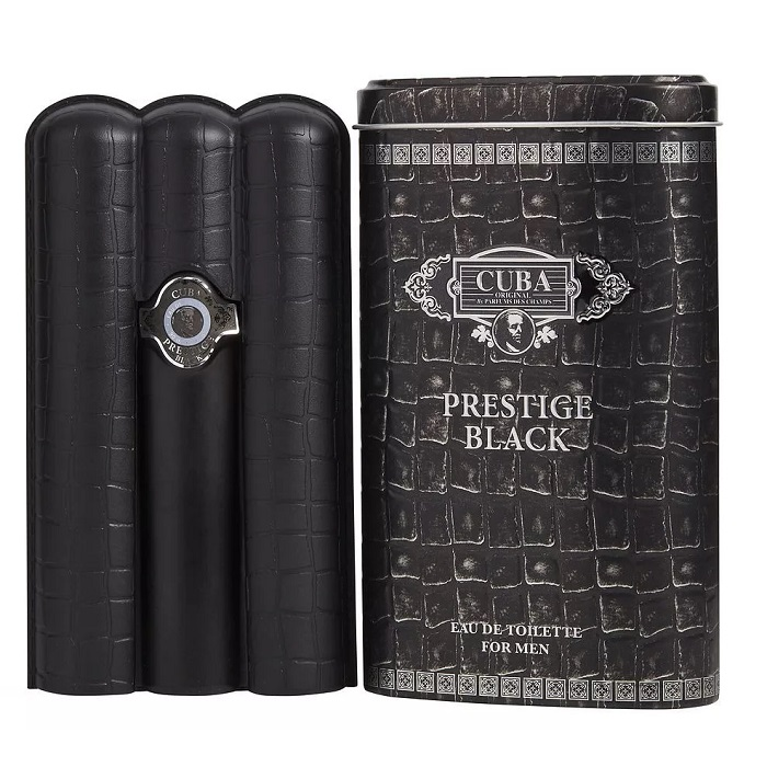 Cuba Prestige Black Cologne by Cuba 3.4oz Eau De Toilette spray for men
