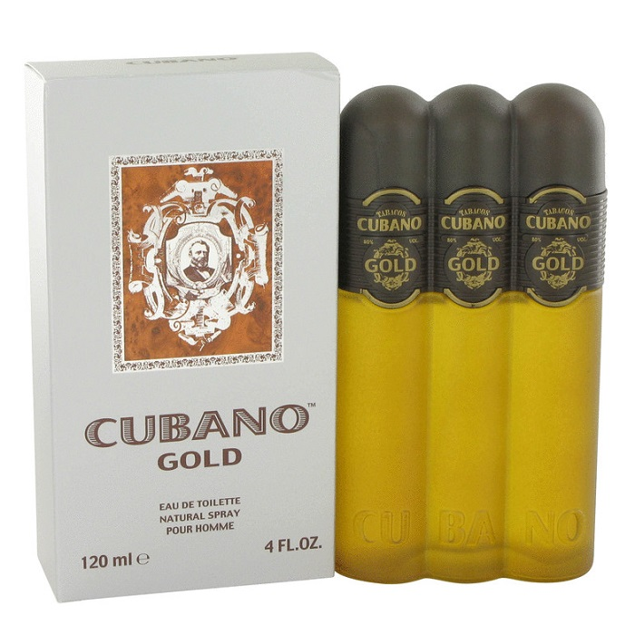 Cubano Gold Cologne by Cubano 4.0oz Eau De Toilette spray for men