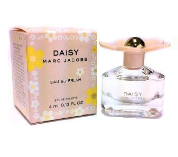 Daisy Eau So Fresh Mini Perfume by Marc Jacobs 4ml Eau De Toilette for Women
