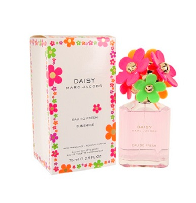 Daisy Eau So Fresh Sunshine Perfume by Marc Jacobs 2.5oz Eau De Toilette spray for Women