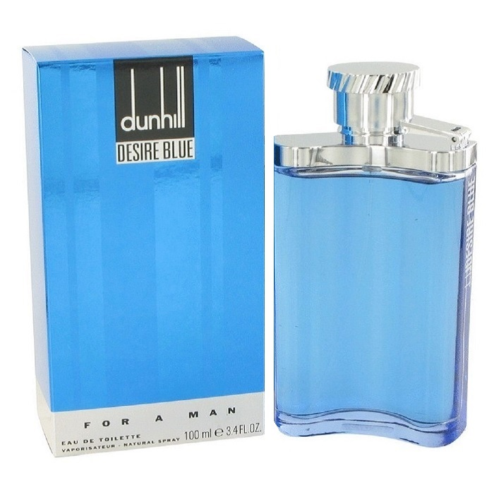 Desire Blue Cologne by Alfred Dunhill 3.4oz Eau De Toilette spray for men