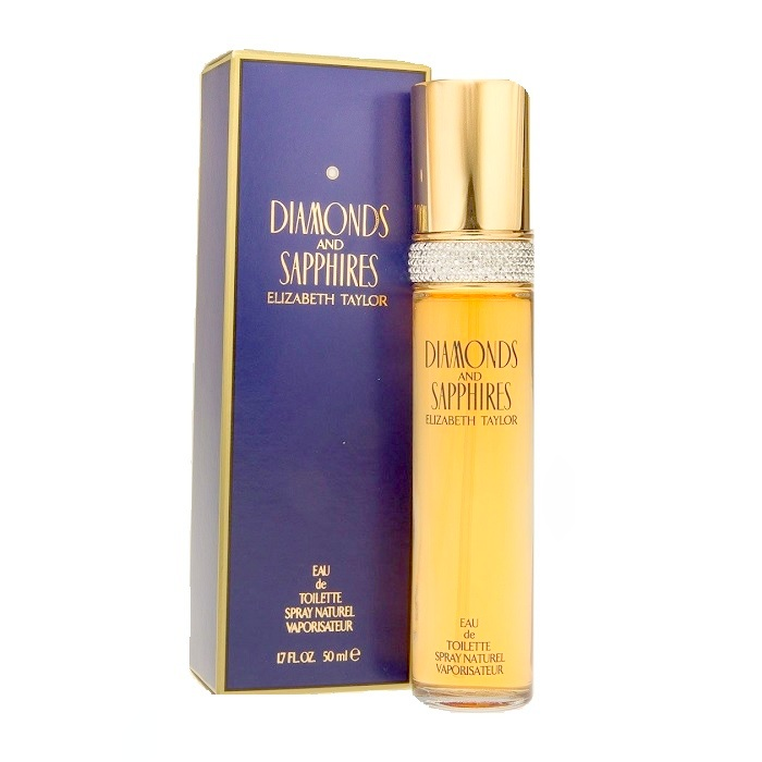 Diamonds and Sapphires Perfume by Elizabeth Taylor 1.7oz Eau De Toilette spray for women