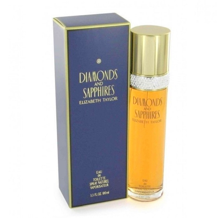 Diamonds and Sapphires Perfume by Elizabeth Taylor 3.3oz Eau De Toilette spray for women