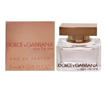 Dolce & Gabbana Rose The One Mini Perfume by Dolce & Gabbana 5ml Eau De Parfum for Women
