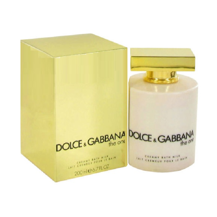 Dolce & Gabbana The One Golden Satin Lotion by Dolce & Gabbana 3.3oz for women