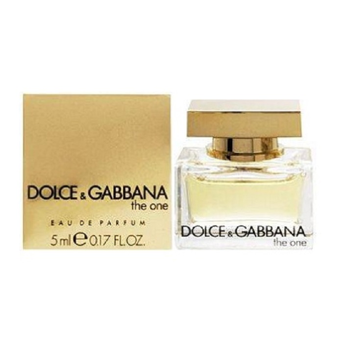 Dolce & Gabbana The One Mini Perfume by Dolce & Gabbana 5ml Eau De Parfum for women