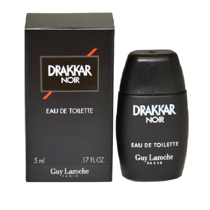 Drakkar Noir Mini Cologne by Guy Laroche 0.17oz / 5ml Eau De Toilette spray for Men