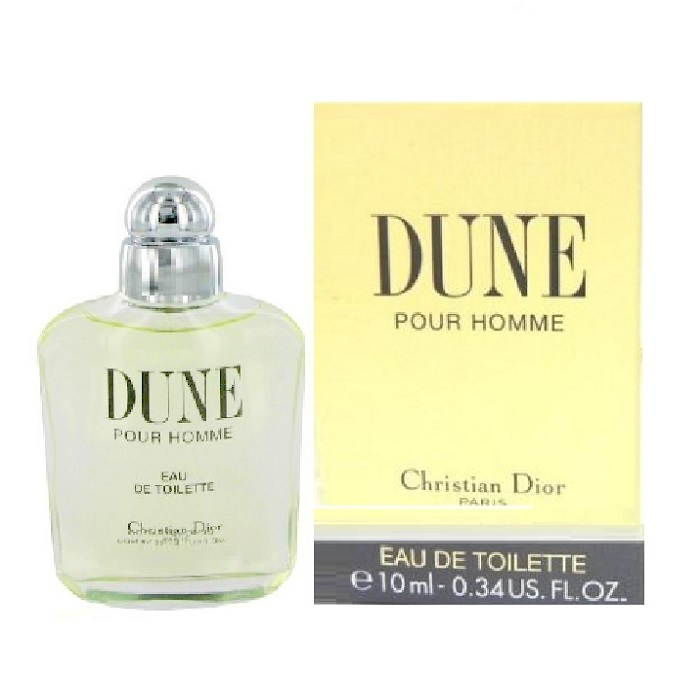 Dune Mini Cologne by Christian Dior 0.34oz / 10ml Eau De Toilette for Men