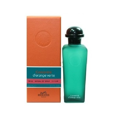 Eau D'Orange Verte Perfume by Hermes 3.3oz Eau De Cologne spray Concentre for All (unisex)