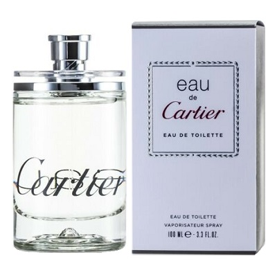 Eau de Cartier Perfume by Cartier 3.4oz Eau De Toilette spray for All (unisex)