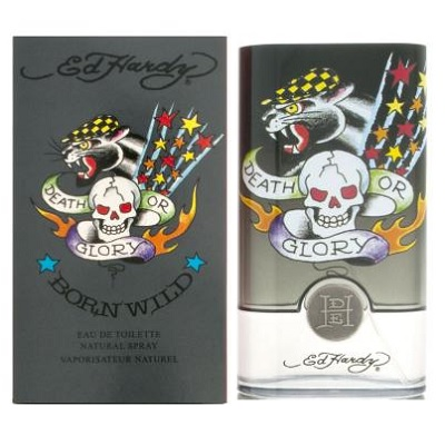 Ed Hardy Born Wild Cologne by Christian Audigier 3.4oz Eau De Toilette spray for Men