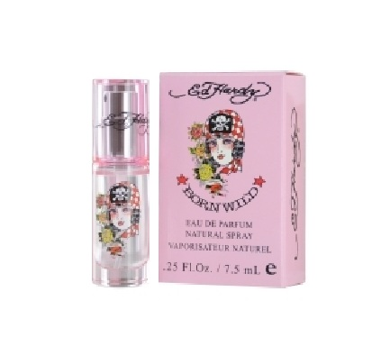 Ed Hardy Born Wild Mini Perfume by Christian Audigier 7.5ml Eau De Parfum spray for Women