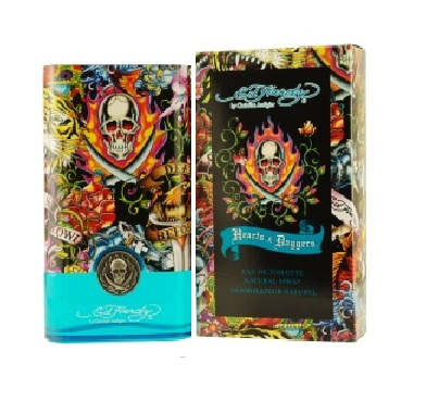 Ed Hardy Hearts & Daggers Cologne by Christian Audigier 1.0oz Eau De Toilette spray for Men