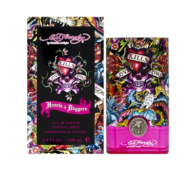 Ed Hardy Hearts & Daggers Perfume by Christian Audigier 1.7oz Eau De Parfum spray for Women