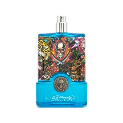 Ed Hardy Hearts & Daggers Tester Cologne by Christian Audigier 3.4oz Eau De Toilette spray for Men