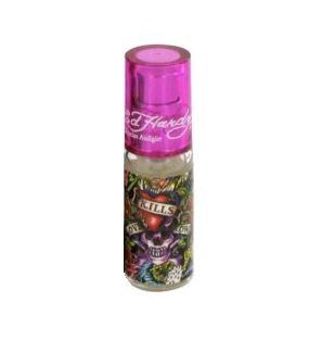 Ed Hardy Hearts & Daggers Mini Perfume by Christian Audigier 7.5ml Eau De Parfum spray for Women (unbox)