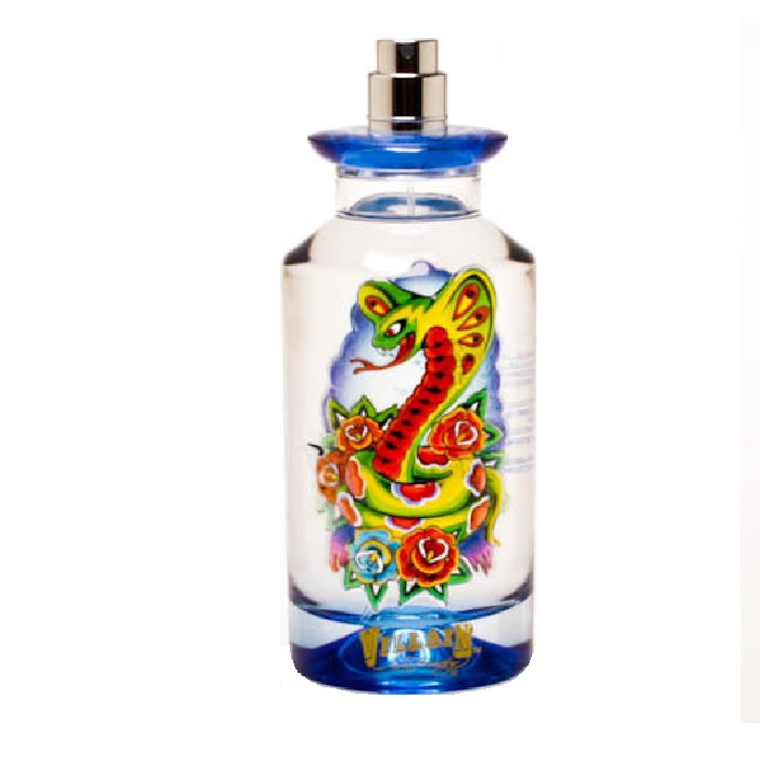 Ed Hardy Villain Tester Cologne by Christian Audigier 4.2oz Eau De Toilette spray for Men