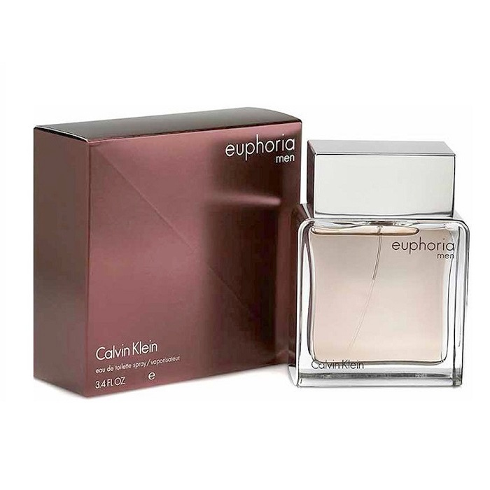 Euphoria Cologne by Calvin Klein 3.4oz Eau De Toilette spray for Men
